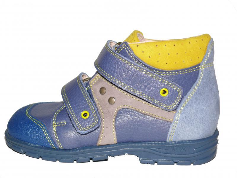 57e704498ed5 ... Supykids GABO detská obuv so suchým zipsom modrá 18-32 (so supináciou)  ...