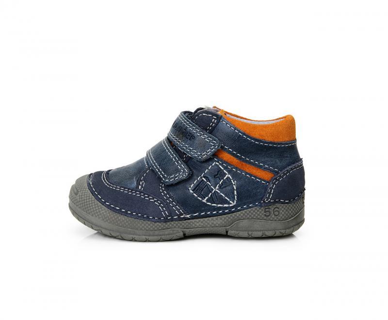 0ae7bb7f3692 D.D.step tmavomodré detské topánky na suchý zips 19-24