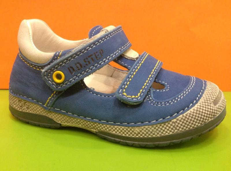 cf12c2ef2 D.D.STEP chlapčenské modré detské topánky na suchý zips 19-24 ...