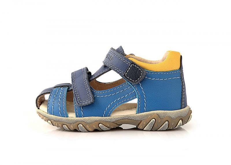 1299d22c7d506 D.D.step bledomodré detské chlapčenské sandále 19-24